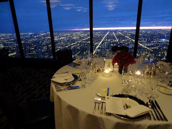 Who's the highest of them all? 5 Restaurants High Above Chicago